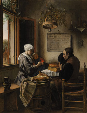 prayer before the meal Jan Havicksz